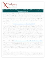 Future of Global Fiber Optic Test Equipment (FOTE) Industry Analyzed by Top Research Firm