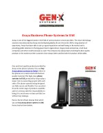 Avaya Business Phone Systems In UAE