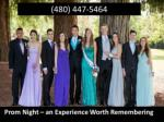 Prom Night – an Experience Worth Remembering