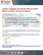 Leather Luggage and Goods Market 2018- Global Industry Research Report
