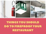 Why We Install Fire Suppression Systems For Restaurants