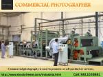 Commercial Photography Company in India