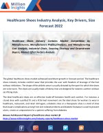 Healthcare Shoes Market Production to 2022 Recent trends By types, Application