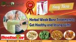 Herbal Weak Bone Treatment to Get Healthy and Strong Joints