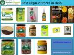 best Organic Grocery Store in india