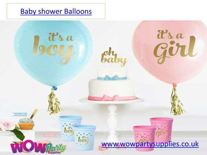 baby shower balloons n.