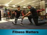 Certificate in Personal Training Course | Fitness Matters