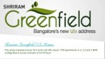 Shriram Greenfield O2 Homes | Apartments | Old Madras Road