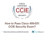 Cisco 400-251 Practice Test Questions