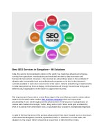 Best SEO Services in Bangalore – IM Solutions