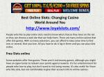 Best Online Slots: Changing Casino World Around You
