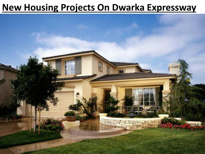 new housing projects on dwarka expressway n.