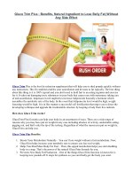 Gluco Trim Plus - Get Superior Weight Loss, Fast!