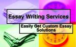 Essay Writing Services - Get Custom Essay Solutions