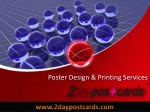 Poster Printing Services in Texas