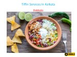 Tiffin Services In Kolkata