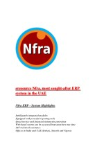 eresource Nfra,most sought-after ERP system in the UAE
