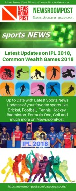 Latest Sports News, Common wealth games 2018 update, Live IPL 2018 – NewsroomPost