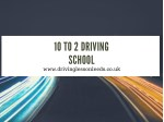 Searching for a qualified driving instructor in Leeds.