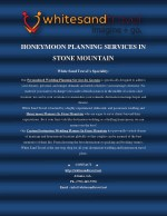 Honeymoon planning services in Stone Mountain
