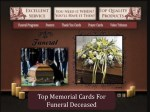 Top Memorial Cards For Funeral Deceased