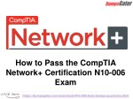 CompTIA Network N10-006 Questions Answers Dumps