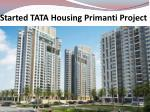 Tata Housing Projects In Sector 72 Gurgaon