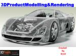 3D Product Modelling And Rendering