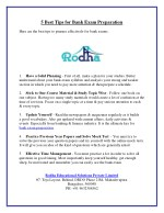 5 Best Tips for Bank Exam Preparation