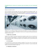 5 Guiding Tips For Commercial Air Conditioner repair and installation for your commercial space