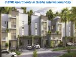 Upcoming Projects Sobha International City