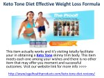 Keto Tone Diet Reviews How Does it Help to Loss Weight