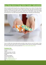 Buy Cheap Generic Drugs Online Canada- Safemeds4all