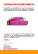 Buy Generic Vaniqa Cream Online- Reliable Canadian