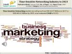 Time-Sensitive Networking Industry to 2023