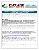 Global Employee Recognition Software Market 2018-2023 focuses On Top Companies, Research Methodology, Drivers and Opport