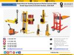 Global Material Handling Equipment Market Outlook 2024: Global Opportunity & Growth Analysis, 2016-2024