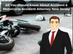 All You Should Know About Accident & Motorcycle Accident Attorney New Jersey