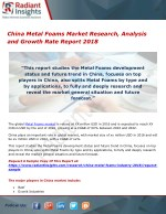 China Metal Foams Market Research, Analysis and Growth Rate Report 2018