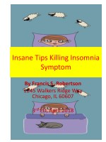Insane Tips Killing Insomnia Symptom