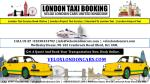 Book now your Taxi in London online - instant or prebooking