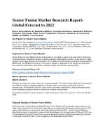 Sensor Fusion Market: Research Report- Global Forecast to 2022