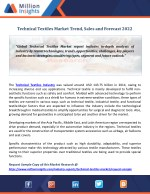 Technical Textiles Market Trend, Sales and Forecast 2022