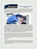 Find Satisfactory Plumbing Services in Tennessee