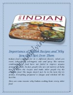 Enjoy Delicious Home Made Indian Food With Simple Indian Recipes