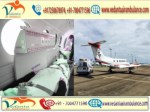Get Air Ambulance with full Advanced Medical Equipment from Patna to Delhi by Vedanta Air Ambulance