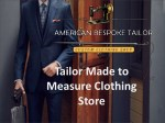 best Bespoke tailor and shirtmakers