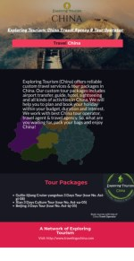 China Tours | China tours packages