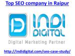 Hire top seo company in Raipur