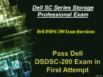 New [2018] and Authentic DSDSC-200 Exam Dumps | Latest Questions Answers for DSDSC-200 Exam
